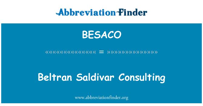 BESACO: Beltran Saldivar Consulting