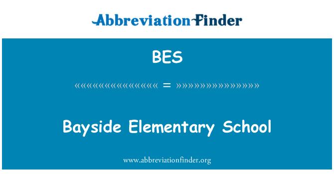 BES: Bayside Elementary School