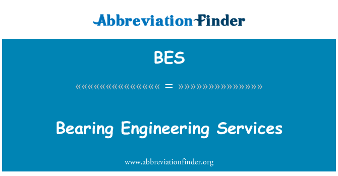 BES: Bearing Engineering Services