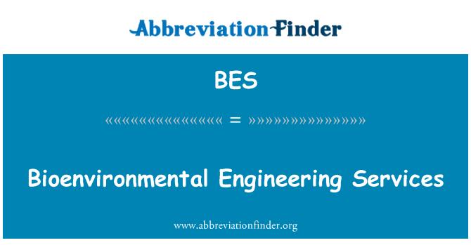 BES: Bioenvironmental Engineering Services