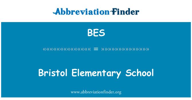 BES: Bristol Elementary School