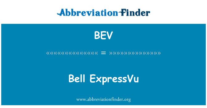 BEV: Bell ExpressVu