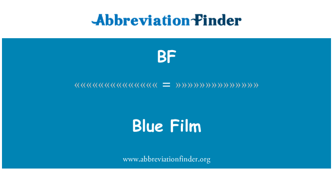 BF: Blue Film