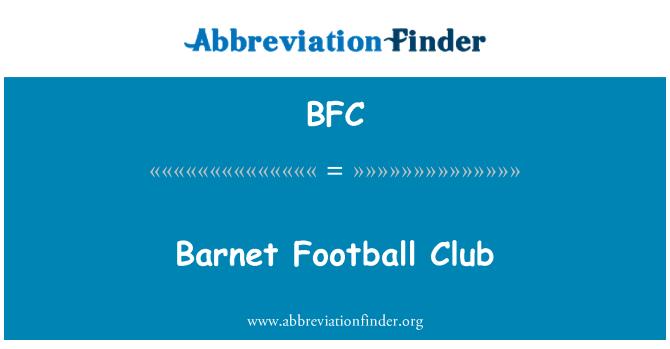 BFC: Barnet Football Club