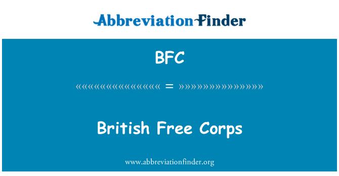 BFC: British Free Corps