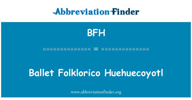 BFH: Ballet Folklorico Huehuecoyotl