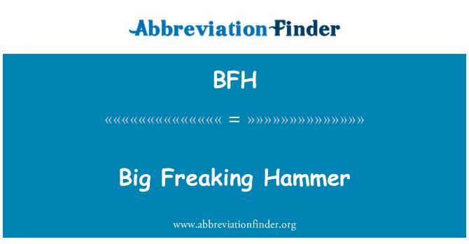 BFH: Big Freaking Hammer