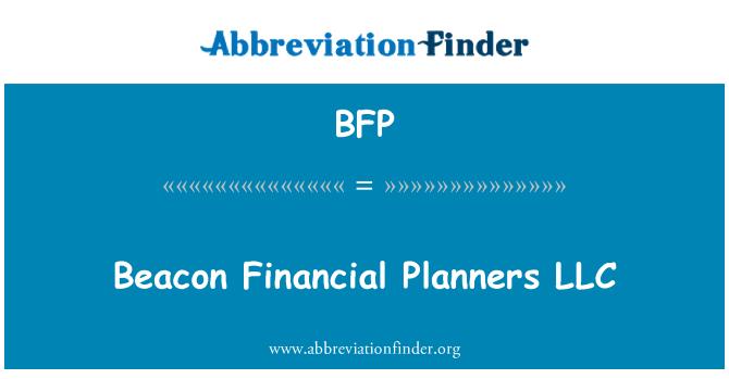 BFP: Beacon Financial Planners LLC