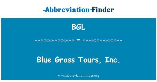 BGL: Blue Grass Tours, Inc.