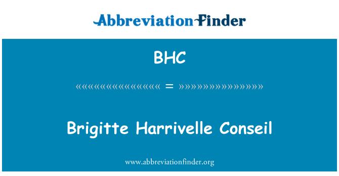 BHC: Brigitte Harrivelle Conseil