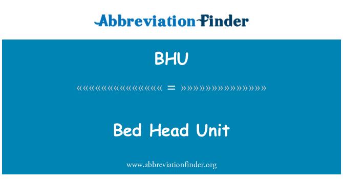 BHU: Bed Head Unit