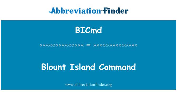 BICmd: Blount Island Command