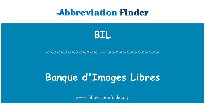 BIL: Banque d'Images Libres