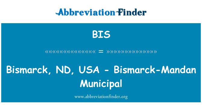 BIS: Bismarck, ND, USA - Bismarck-Mandan Municipal