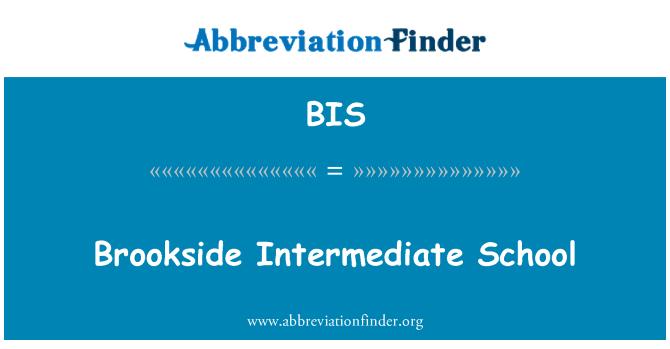 BIS: Brookside Intermediate School