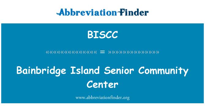 BISCC: Bainbridge Island Senior Community Center