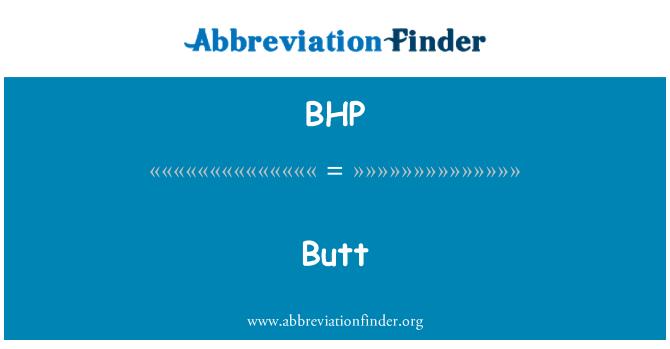 BHP: 对接