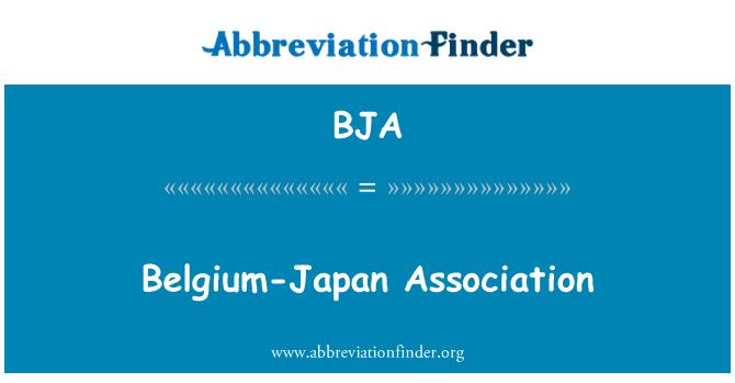 BJA: Belgium-Japan Association
