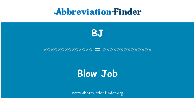 määritelmä Blow Job