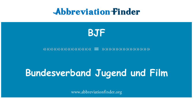 BJF: Bundesverband Jugend und Film