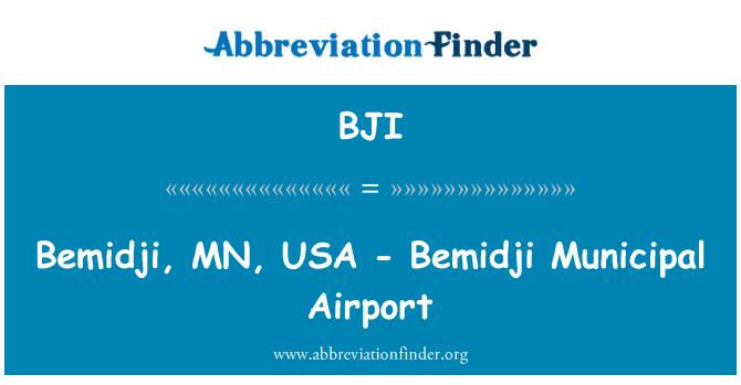 BJI: Bemidji, MN, USA - Bemidji Municipal Airport