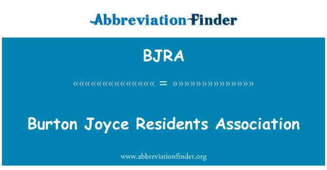 BJRA: Burton Joyce Residents Association
