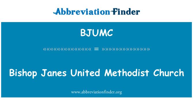 BJUMC: Bishop Janes United Methodist Church