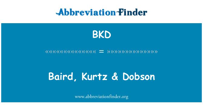 BKD: Baird, Kurtz & Dobson