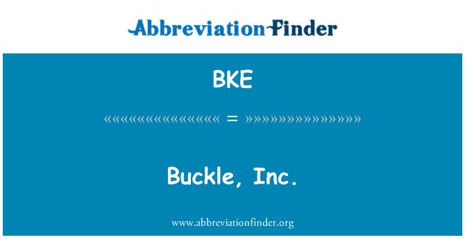 BKE: Buckle, Inc.
