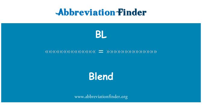 BL: Blend