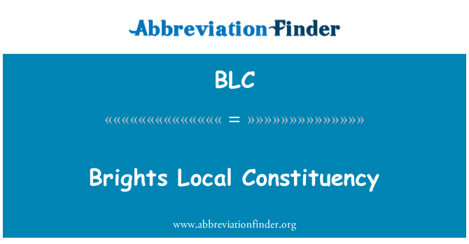 BLC: Brights Local Constituency