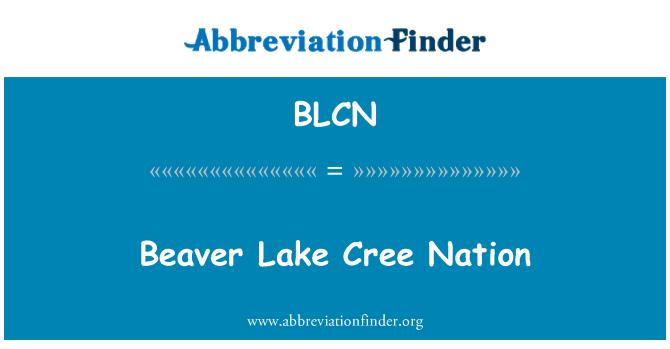 BLCN: Kunduz Gölü Cree ulus