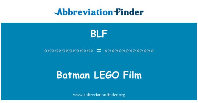 BLF: Batman LEGO Film