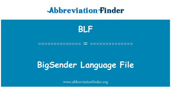 BLF: BigSender Language File