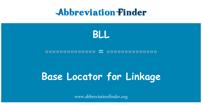 BLL: Base Locator for Linkage