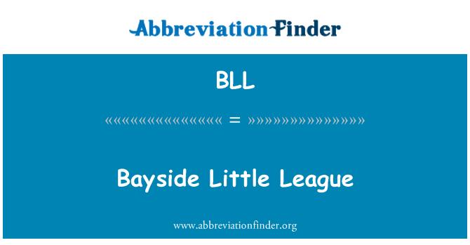 BLL: Bayside Little League