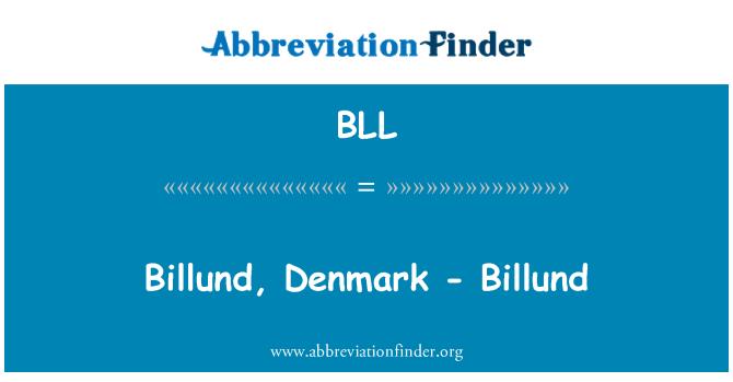 BLL: Billund, Denmark - Billund