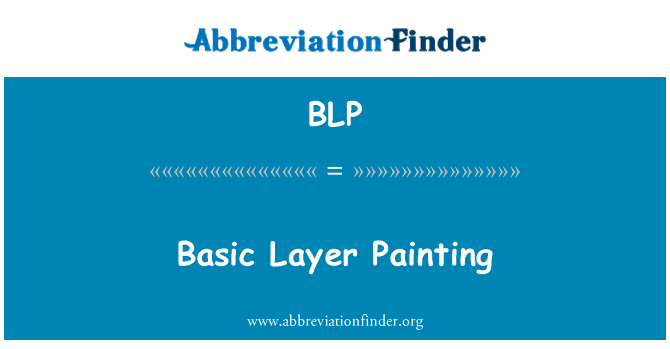 BLP: Basic Layer Painting