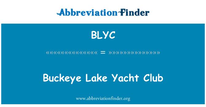 BLYC: Buckeye jezero Yacht Club
