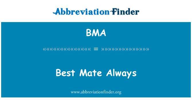 BMA: Best Mate Always