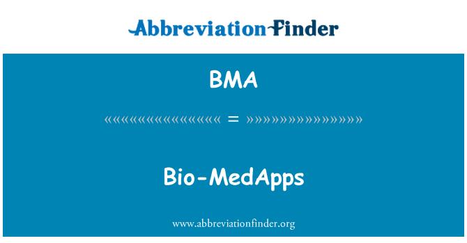BMA: Bio-MedApps