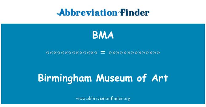 BMA: Birmingham Museum of Art