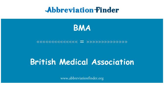BMA: British Medical Association
