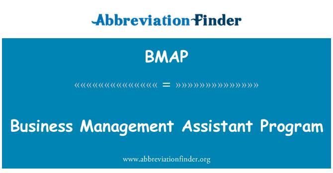 BMAP: Programa Asistente gestión de negocios