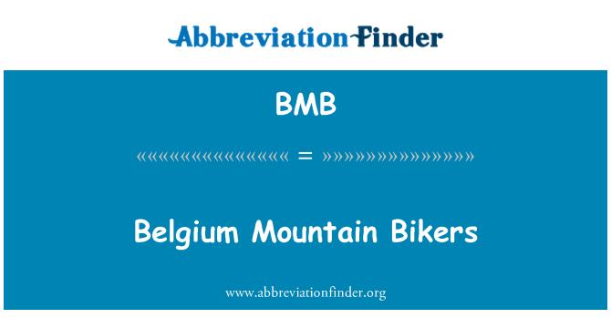 BMB: Belgium Mountain Bikers