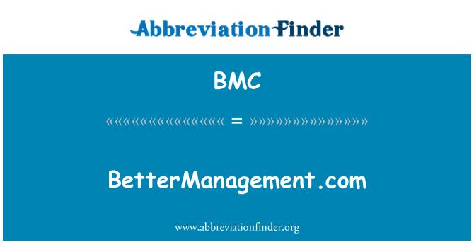 BMC: BetterManagement.com