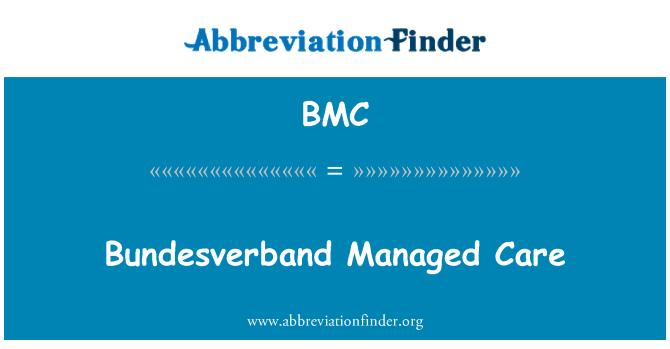 BMC: Bundesverband Managed Care