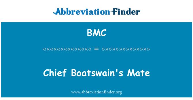 BMC: Chief Boatswain's Mate
