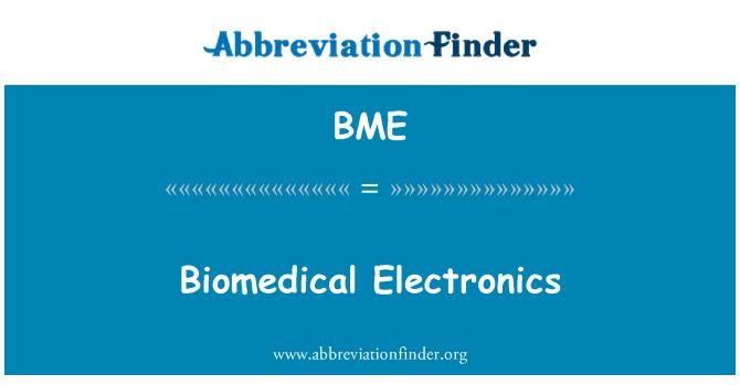 BME: Biomedical Electronics