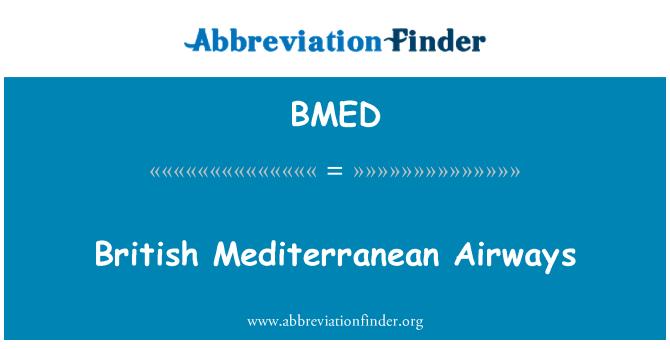 BMED: Briti Vahemere hingamisteedes
